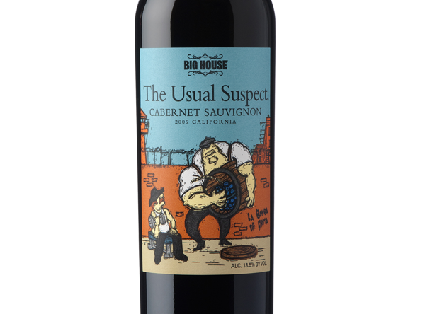 "Afbeelding van Big House ""The Usual Suspect"" Cabernet Sauvignon 2013"