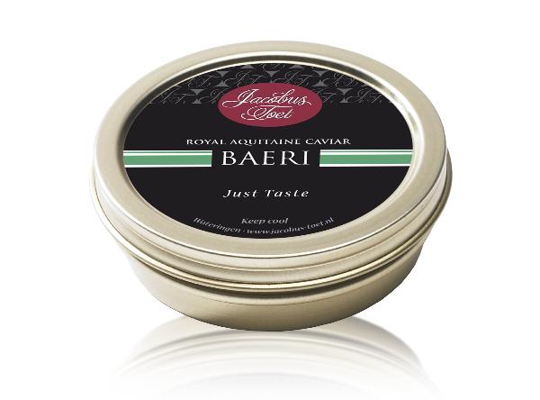 Afbeelding van Jacobus Toet Royal Caviar Baeri 30 gram