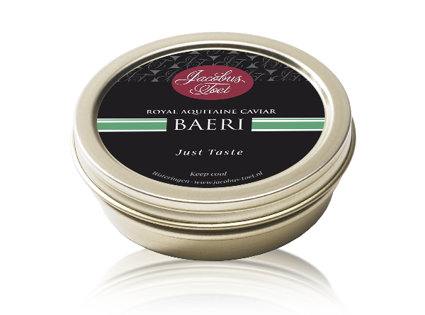 Afbeelding van Jacobus Toet Royal Caviar Baeri 50 gram